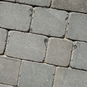 Huron Bluestone <br/>Tumbled Cobble