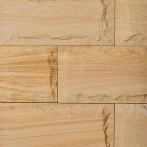 Sandstone Medium Vein Split Face