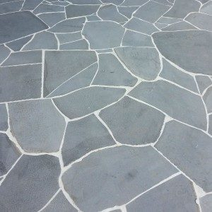 Crazy Bluestone Sawn Bluestone Pavers in Sydney