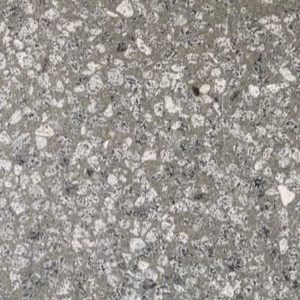 Graphite Terrazzo Sandblasted
